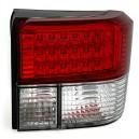 LED zadní světlomety sada pro VW T4 9/90-8/03 / červená-bílá