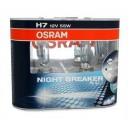 Žárovky Osram Night Breaker Plus H7 12V 55W