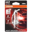 Žárovka OSRAM Nightbreaker Unlimited H7 12V 55W - 1ks