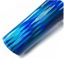 Duhová chromovaná modrá polepová fólie 142x50cm - interiér/exteriér_1