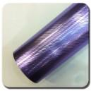 4D Karbonová chromovaná fialová polepová fólie 152x100cm - interiér/exteriér_1