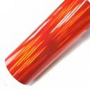 Duhová chromovaná červená polepová fólie 142x50cm - interiér/exteriér_1